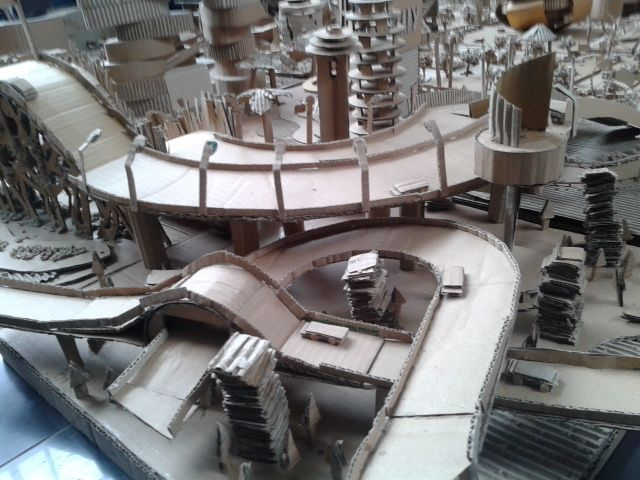 """Maket """"City of Motion"""" , My project angle 3"""