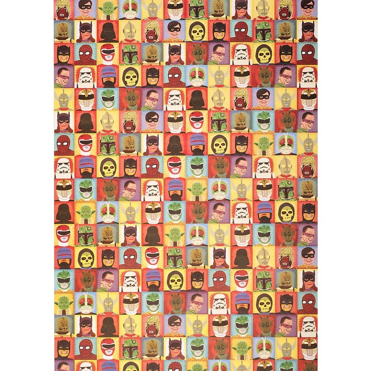 Heroes & Villains Wrapping Paper - Paper Source $3.95Superhero Birthday, Heroes, Villains Wraps, Wrapping Papers, Gift Wraps, Superhero Parties, Paper Sources, Comics, Wraps Paper