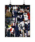 #10: Tom Brady Rob Gronkowski Tom Brady Rob Gronkowski Autographed Signed 11x14 Photo Reprint RP COA 'American football quarterback' http://ift.tt/2cmJ2tB https://youtu.be/3A2NV6jAuzc