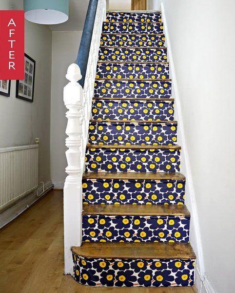 Les 106 meilleures images propos de id es pour la maison for Moquette pour escalier bois