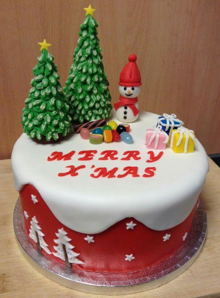 2005 Best Images About Christmas Winter Cakes On