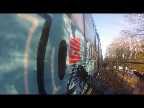 Shite - Amsterdam Metro, Train graffiti video