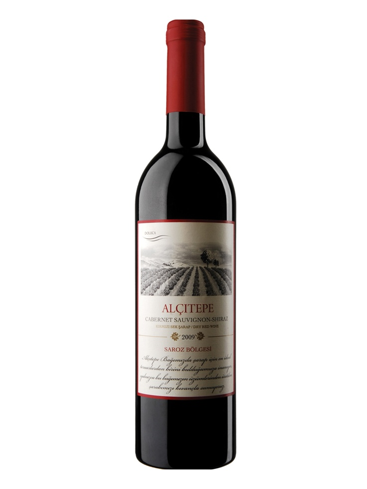 ALÇITEPE CABERNET SAUVIGNON-SHIRAZ 2009 BY DOLUCA - Turkish Wine