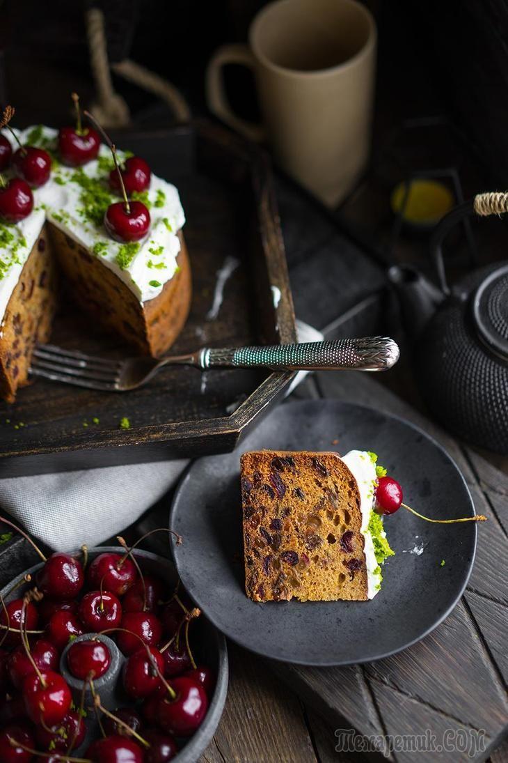 Фруткейк — пирог для загородных посиделок