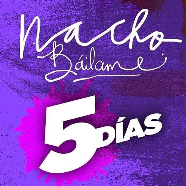 El viernes 14 de abril #Bailame así que estén activos.. April 14 #Bailame coming soon @nacho