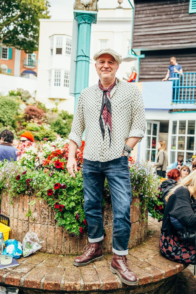 An eclectic style at a festival in England! Via @drmartens (Level 1, North)