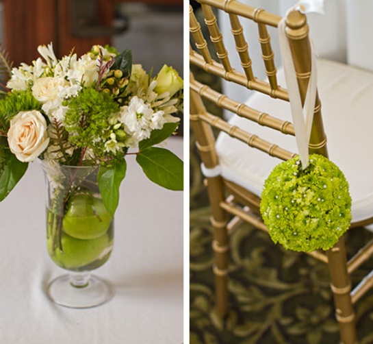 43 best apple wedding images on pinterest apples green weddings green apple colored decorations junglespirit Image collections