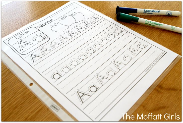 FREE…FREE…FREE! Free A-Z Handwriting practice pages!
