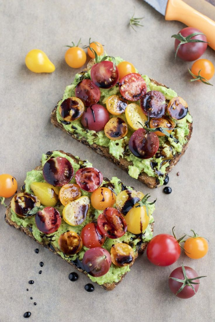 Avocado toast - 3 ways!