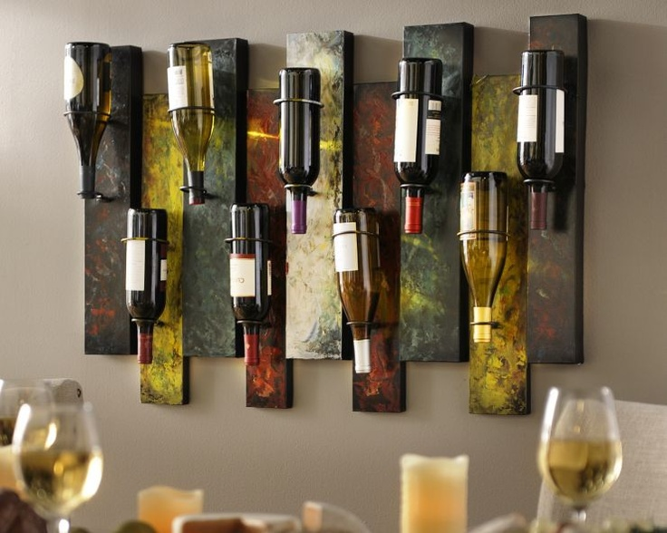 Kinda digging this wine rack. Thinking this may look good in my house. Hmmm.....