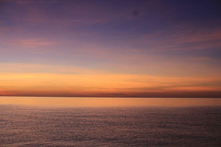 Nakhon Si Thammarat Beach sunrise