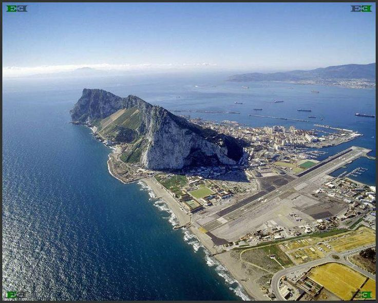 #Gibraltar a gem guarding the entrance to the Mediterranean and Atlantic. African 13 km across. #British forever