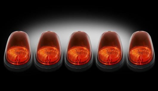 Dodge Ram 2500 & 3500 Heavy-Duty 2003-2012 AMBER LED Cab Lights (5 Piece set)