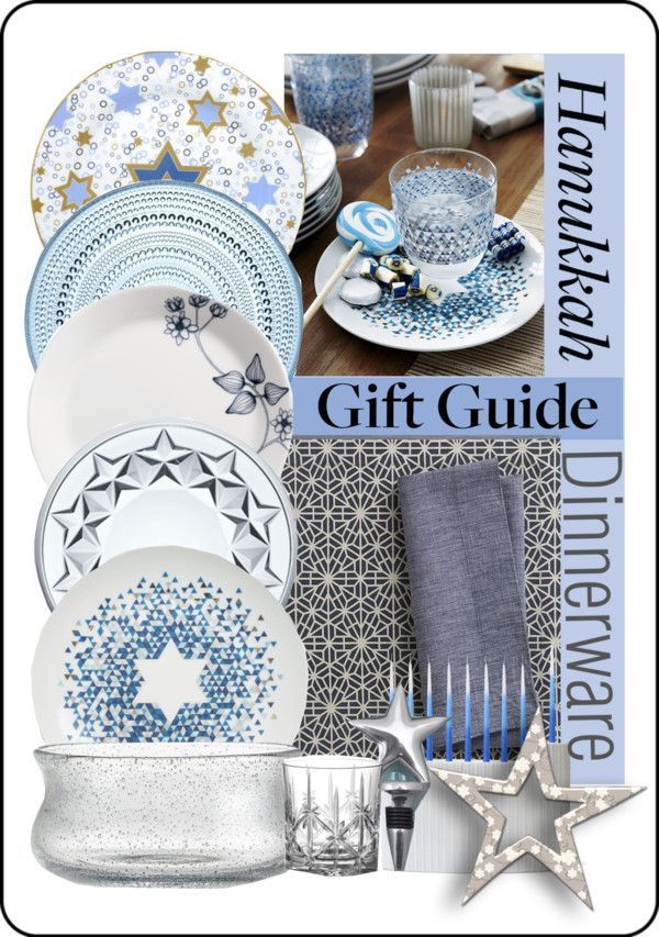 Hannukah Dinnerware Gift Guide  by vkevans on Polyvore  sc 1 st  Pinterest & 19 best Hanukkah images on Pinterest | Happy hanukkah Hannukah and ...