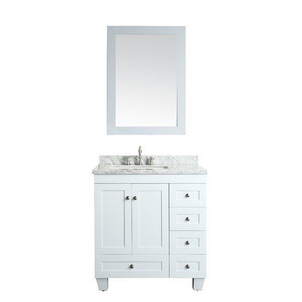 Lauder 30 Single Bathroom Vanity Set White Vanity Bathroom Single Bathroom Vanity White Bathroom Cabinets