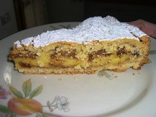 torta di crema e amaretti