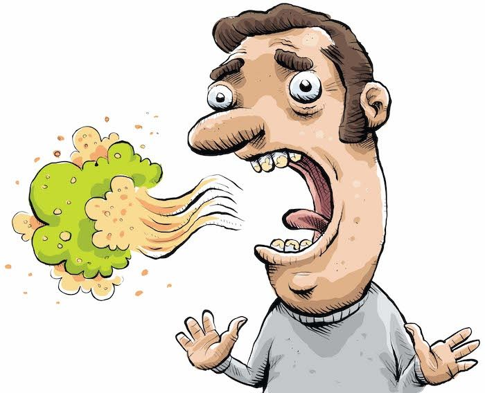 Having a bad breath can be quite an embarrassing problem and as much as you try, it can't stay hidden. Consuming items like onion, garlic, coffee and alcohol affects the breath quality quite considerably. While for some it may be temporary because of something they ate. So if that odor producing bacteria seems to have a special liking for your teeth and gums, follow the home remedies and make your breath smell clean and fresh.  #BadBreathProblem #ToothDecay #BestDentist #BestDentalTreatment
