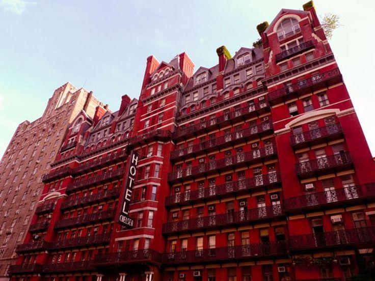 chelsea hotel #haunted hotels