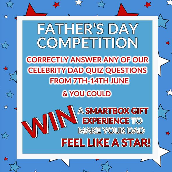Head over to our Facebook or Twitter Page (@CalendarsUK) to enter our #FathersDay #Competition now to #Win a Gift Experience!