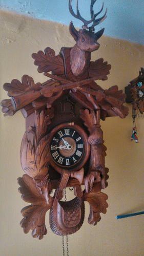 Reloj Cucu De La Selva Negra (cazador)