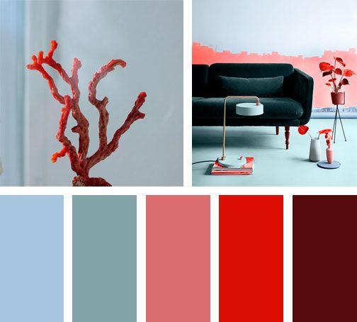 17 mejores ideas sobre combinación de colores cálidos en pinterest ...