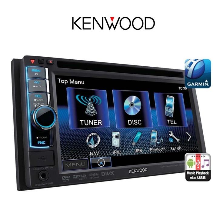 Kenwood DDX4021BT bilstereo med DVD, Bluetooth og støtte for iPhone