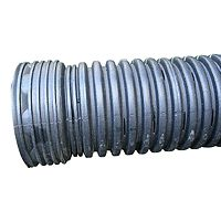 "ADS Flexible Corrugated Perforated Drain Pipe 4""x10' $6.69  ea"