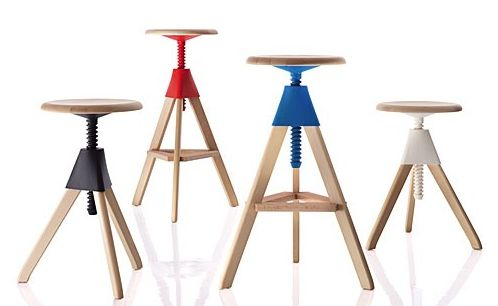 Tom and Jerry stool colours