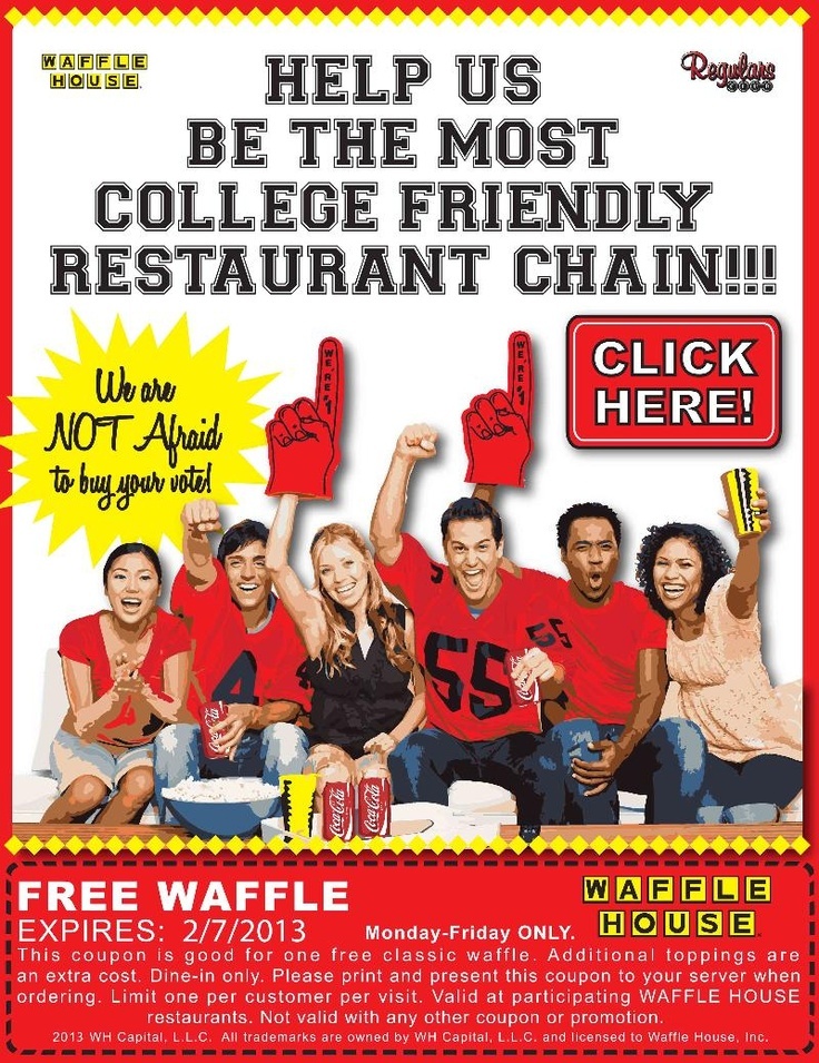 Saving 4 A Sunny Day Free Waffle At Waffle House Waffle