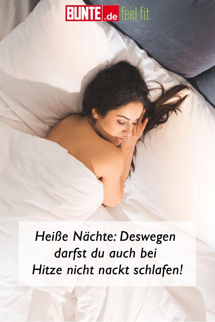 Heiße Nächte: Deswegen darfst du auch bei Hitze nicht nackt schlafen ...