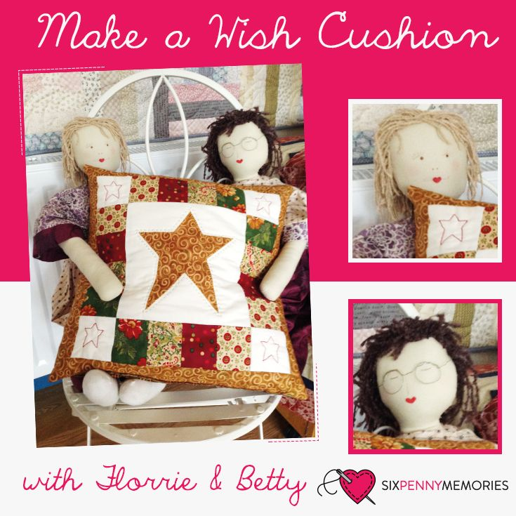 This cushion looks great in any fabrics and is easy to achieve.