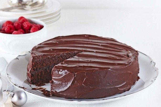 This rich chocolate dessert provides a gourmet ending to your dinner party.
