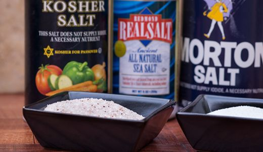 Facts on the difference in kosher salt, table salt and sea salt every cook should know.