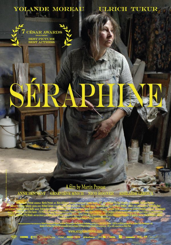 Seraphine ... beautiful Peter Weir film about French artist Seraphine de Senlis