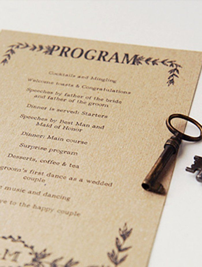 Best 25 Wedding program templates ideas – Printable Program Templates