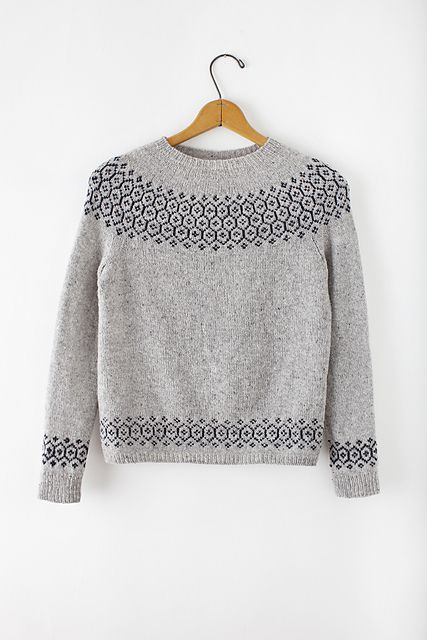 Ravelry: Stasis Pullover pattern by Leila Raabe