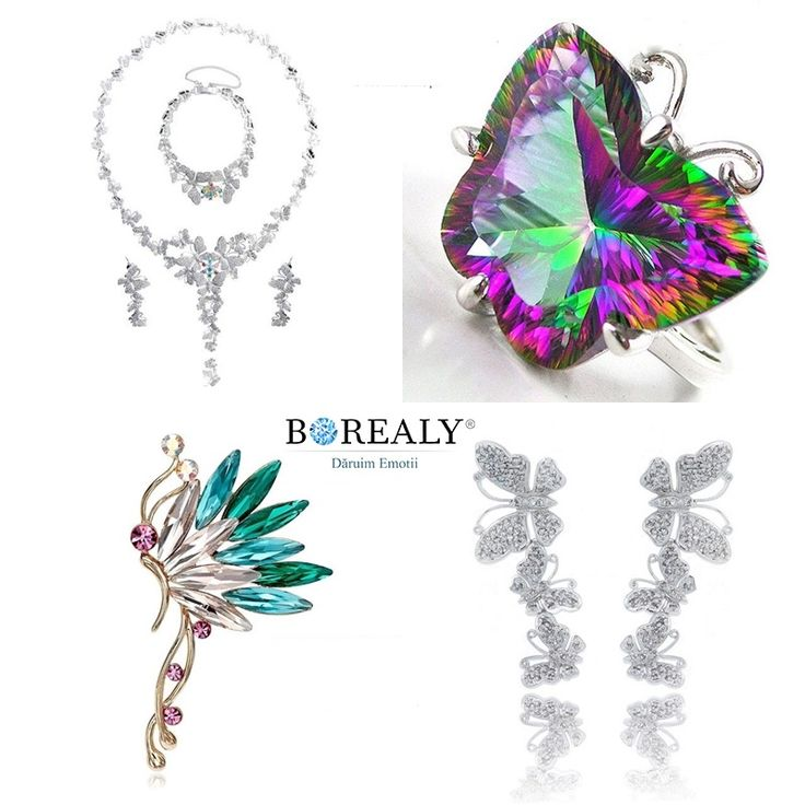 jewelry butterflies borealy spring accesories