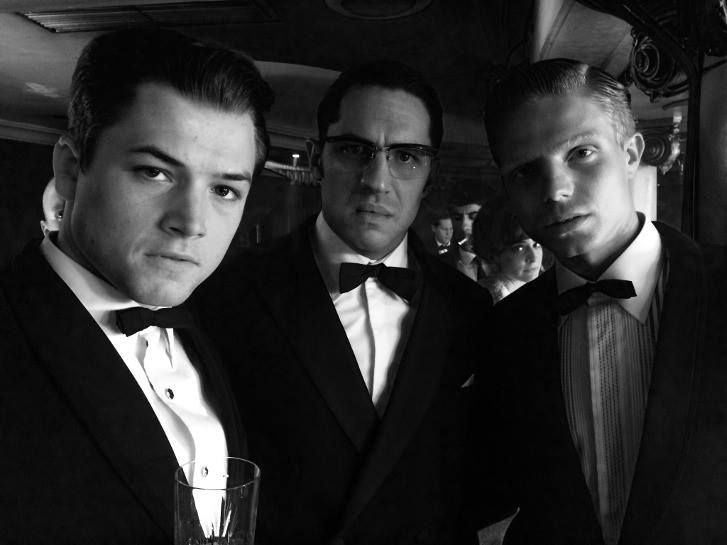Dans Legend, Taron Egerton et Tom Hardy incarnent des gangsters gay à la cool