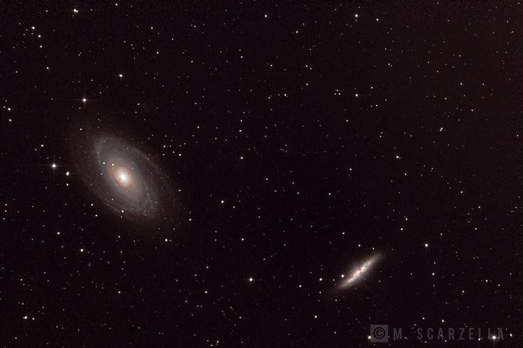 Galassia di Bode e Galassia Sigaro