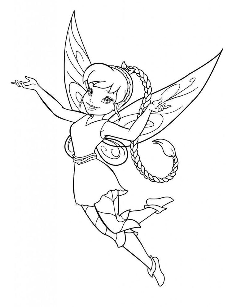 free printable fairy malvorlagen für kinder in 2020