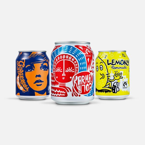 Karma Cola Co. by Special. #packaging