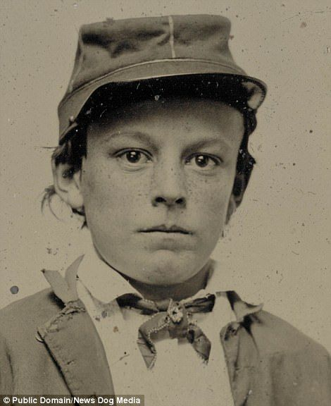 Photos of children who fought the American Civil War | Daily Mail Online