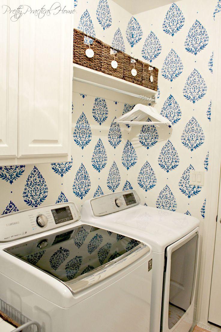 Best 25+ Laundry room wallpaper ideas on Pinterest ...
