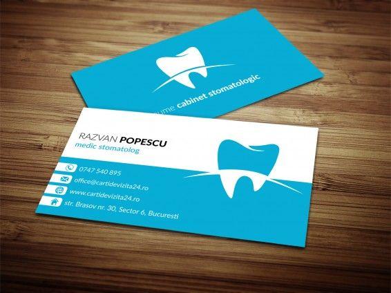 "Modele carti de vizita ""Dentist 04"""
