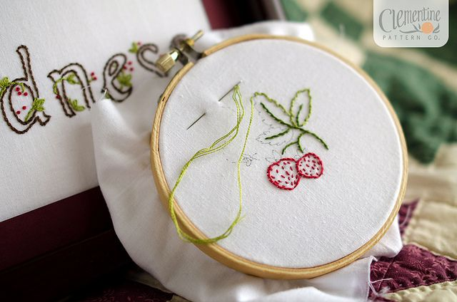 Kindness Embroidery by Clementine Patterns by Simply Vintagegirl, via FlickrKind Embroidery, Seamtress Fun, Simply Vintagegirl, Clementine Pattern