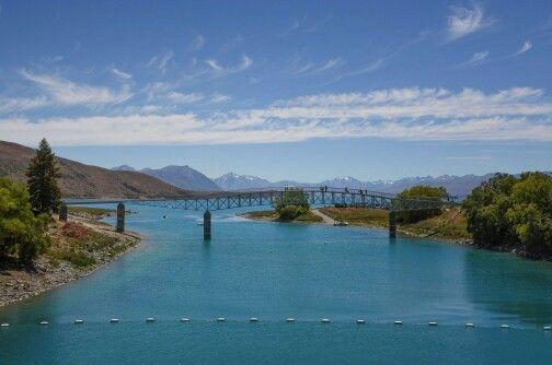 Lake Tekapo, MacKenzie Country NZ.