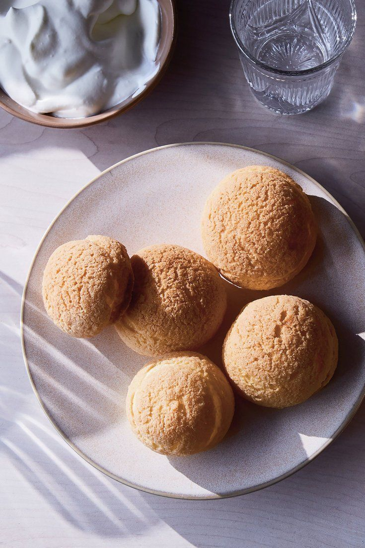 NYT Cooking: Pâte à choux, aka cream puff dough, is a baker's putty, the mixture that becomes the cream puff as well as éclairs, beignets, churros, croquembouches, gâteaux St. Honoré and tens more desserts. The dough is cooked before it's baked, andit'sa quick-change artist – a lump when it goes into the oven, it emerges golden, ping-pong-ball light, a couple or three times its siz...