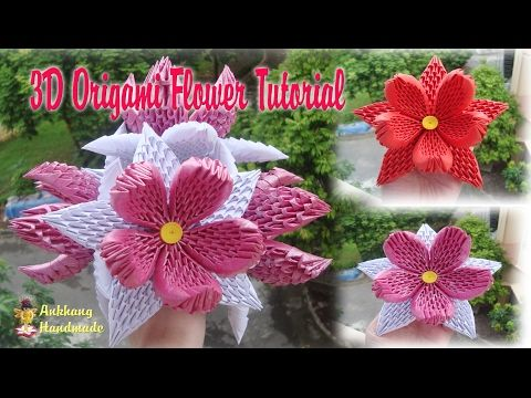 HOW TO MAKE 3D ORIGAMI CALLA LILY | DIY PAPER CALLA LILY FLOWER - YouTube