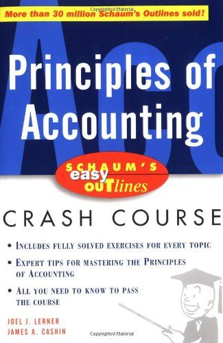 10 best accounting bookkeeping images on pinterest accounting principles of accounting schaums easy outlines crash course for 450 fandeluxe Images