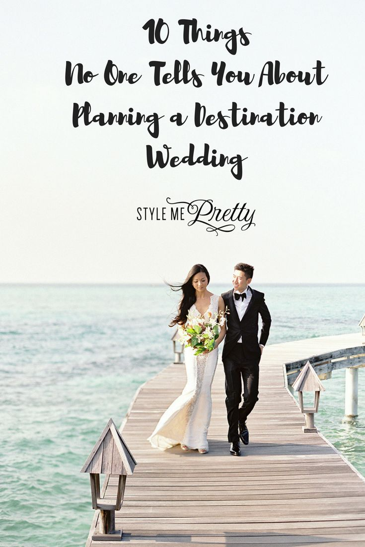 Thinking of planning a destination wedding? Read this first.